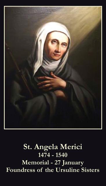 the santa angela merici
