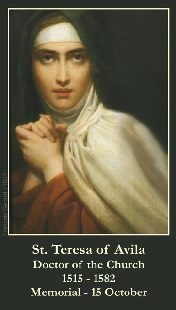 St. Teresa Avila Prayer