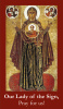 Our Lady of the Sign Prayer Card