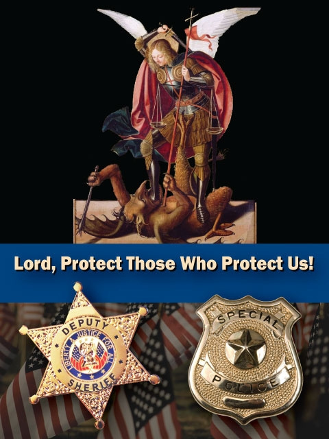 Law Enforcement Prayer Card
