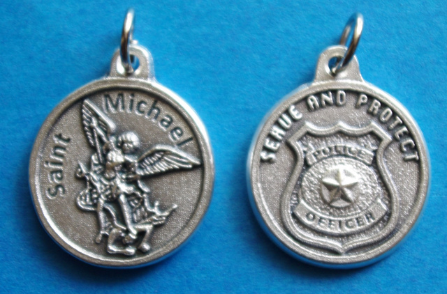 SERVE & PROTECT Police St. Michael Medal
