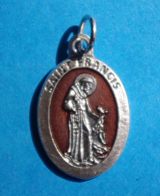 Brown St. Francis of Assisi Medal