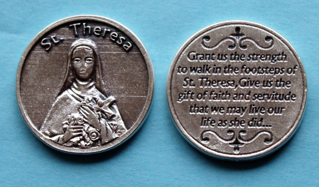 St. Therese of Lisieux Pocket Coin