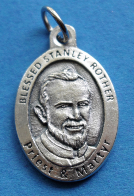 ***EXCLUSIVE*** Blessed Stanley Rother Medal