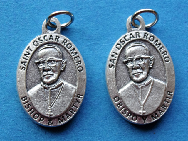 ***EXCLUSIVE*** Blessed Oscar Romero Medal