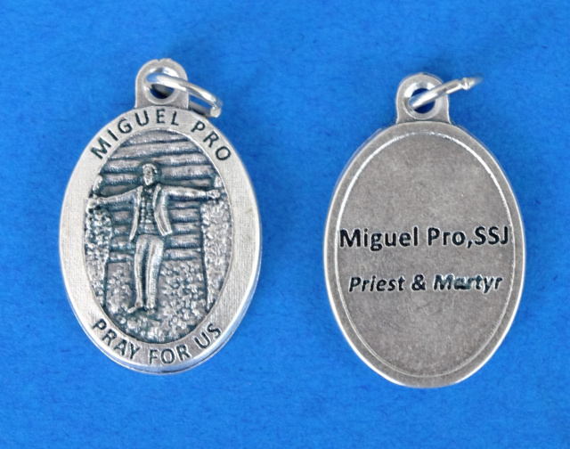 ***EXCLUSIVE*** Blessed Miguel Pro Medal