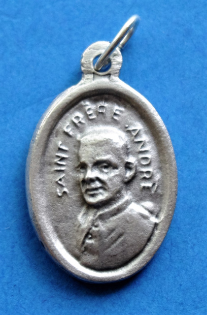 ***EXCLUSIVE*** St. Andre Bessette Medal