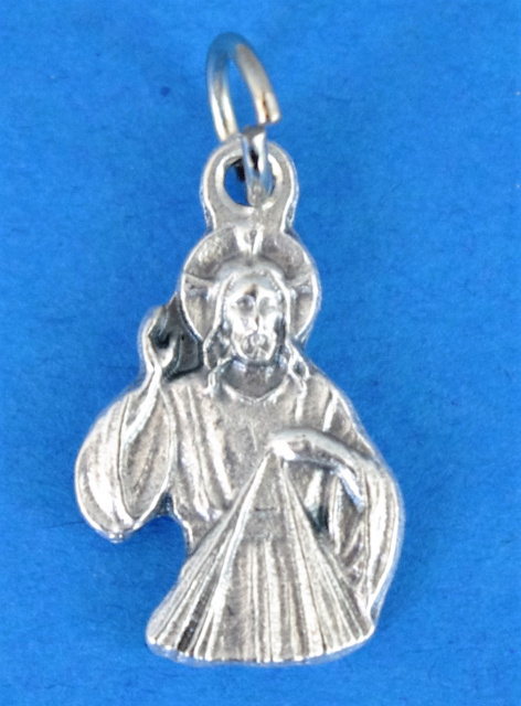 Divine Mercy Silhouette Charm