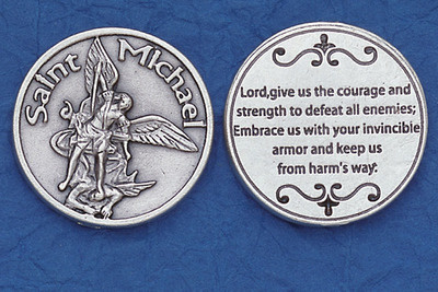 St. Michael Military Pocket Coin