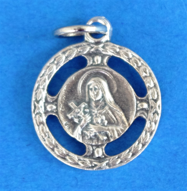 St. Therese Round Medal Disc
