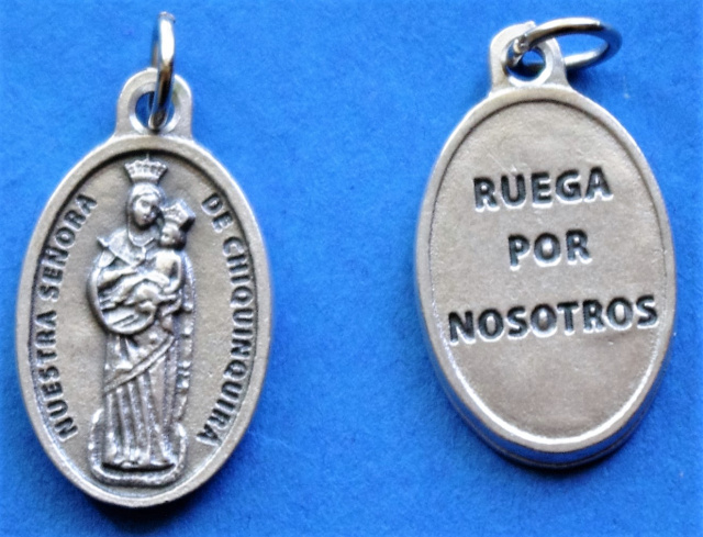 Our Lady of Chiquinquira Medal