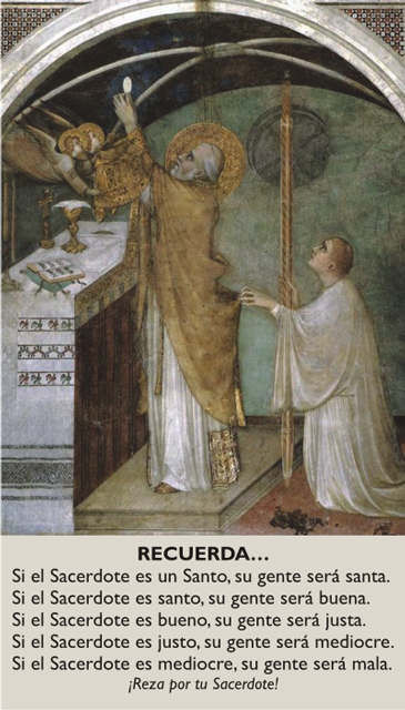 *SPANISH* Prayer for Priests Card