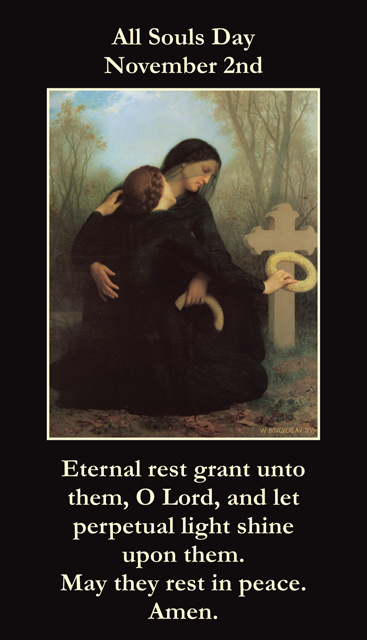 All Souls Day Prayer Card