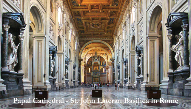 St. John Lateran Basilica Prayer Card