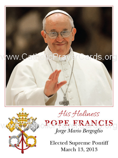 Special Limited Edition Commemorative Pope Francis Magnet