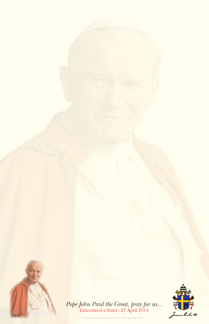 Pope John Paul the Great Stationery