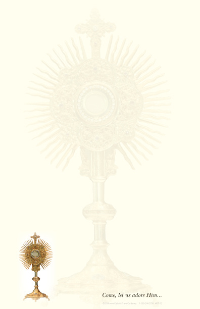 Blessed Sacrament Stationery