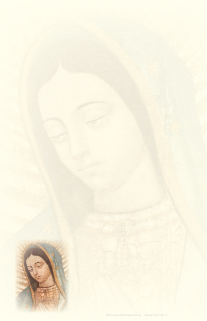 Our Lady of Guadalupe Stationery