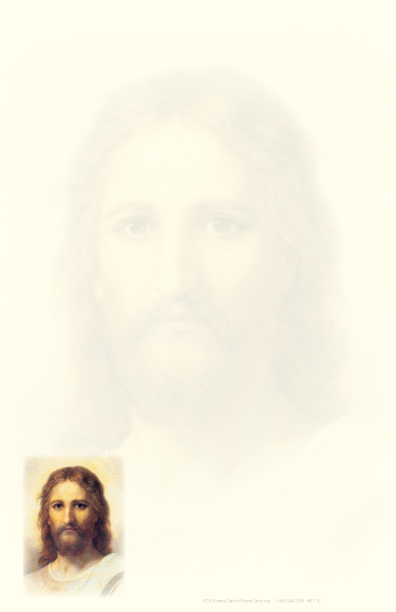 Portrait of Christ Stationery