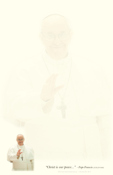 Pope Francis Stationery