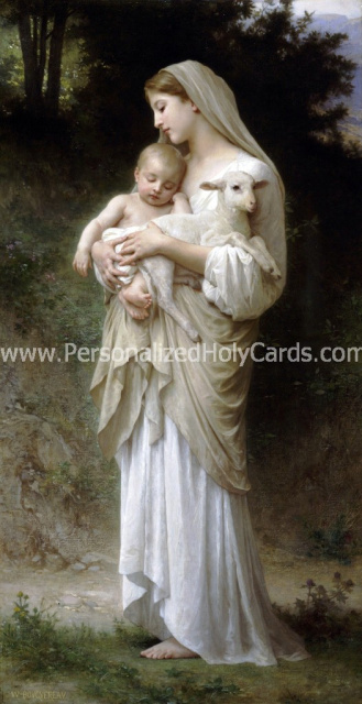 Madonna & Child w/ Lamb Magnet