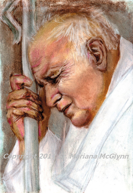 Saint Pope John Paul II Magnet