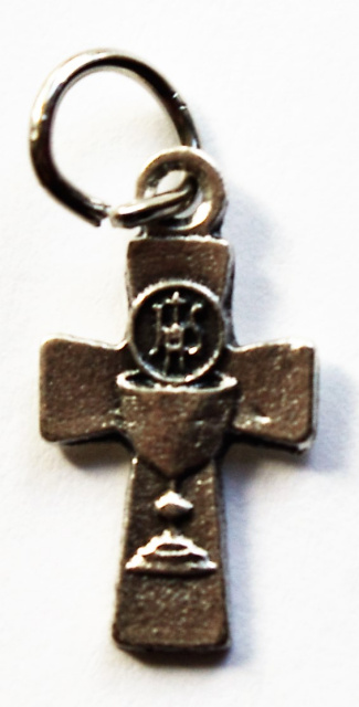 Blessed Sacrament Cross Charm