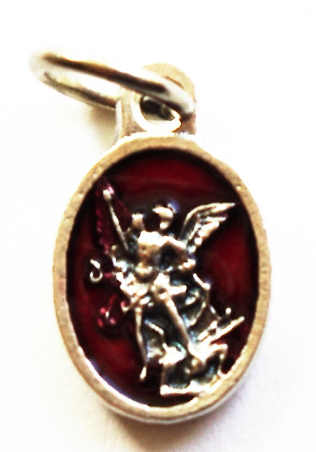 St. Michael Red Charm