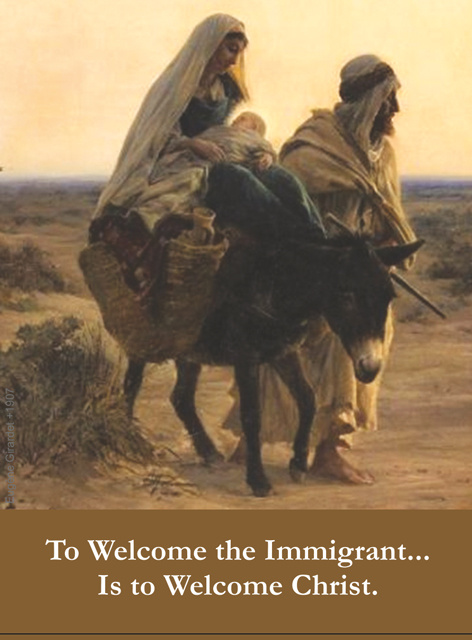 To Welcome the Immigrant Prayer Card
