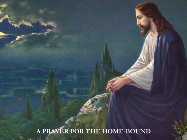 Prayer for the Home-Bound Card