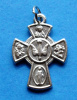 Small Four Way Cross Pendant