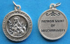 St. Catherine of Sweden Round Medal - Miscarriages