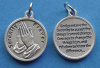 Serenity Prayer Round Medal