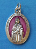 Pink St. Therese of Lisieux Medal