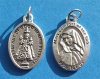 ***EXCLUSIVE*** Infant of Good Health/Mary, Comfort of the Sick Medal