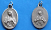 Twin Hearts of Jesus & Mary Medal