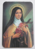 St. Therese (The Little Flower) Holographic Card