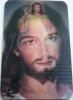 Divine Mercy Holographic Card