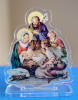 Mini Nativity Lucite Statuette