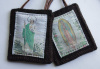 St. Jude / Our Lady of Guadalupe Woven Medallion Wool Scapular