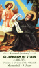 Saint Ephrem of Syria Holy Card