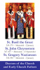 Saints John Chrysostom, Basil the Great, & Gregory Nazianzen Holy Card