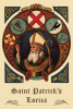 St. Patrick's Lorica Prayer Card