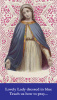 Lovely Lady Dressed in Blue Prayer Card