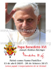 ** SPANISH ** Limited Edition Collector's Series Commemorative Pope Benedict XVI Prayer Card
