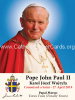 Special Limited Edition Commemorative Pope John Paul II Canonization Magnet