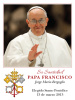 ** Spanish **  Pope Francis Holy Cards