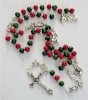 Christmas Red & Green Rosary