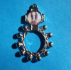 Our Lady of Lourdes Rosary Ring Style 2