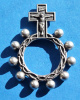 Oxidized Rosary Ring